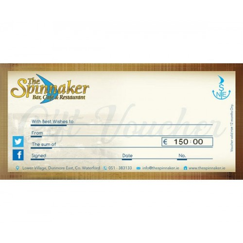 The Spinnaker Gift Voucher Special Offer