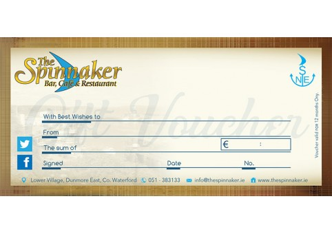 The Spinnaker Gift Voucher
